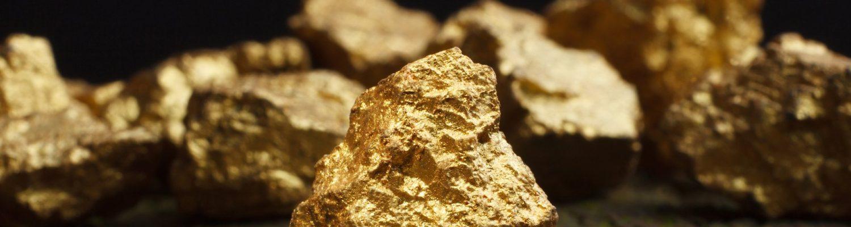 Gold header